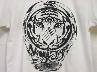 QOPYRIGHTFREE Vinyl Tiger S/S Tee